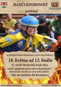 Memoriál J. Ryse 18,5.2019 Kosmonosy